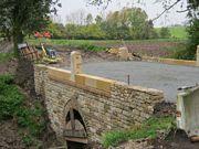 Oprava mostku Milovice